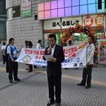 決議文を読み上げる伊藤福島地区連合議長