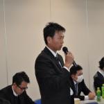 意見・要望の発言をする連合福島青年女性委員会・小山聖徳幹事