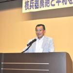 2017ふくしまからの平和アピールを提案する県中地域連合箭内孝仁事務局長