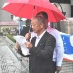 労働問題による相談を呼びかける連合福島遠藤章副会長