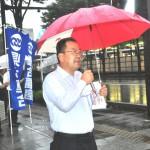 進行を務めた連合福島遠藤徳雄副事務局長
