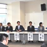 立候補を予定している県内5選挙区の予定候補者の皆さん