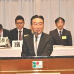 来賓挨拶 社民党県連代表 紺野長人福島県議会議員
