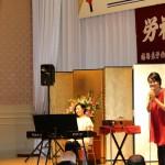 右)世界的口笛奏者の柴田晶子さん 左)シンガーソングライター 藤野恵美さん
