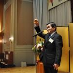 小野利市県労福協副会長による乾杯