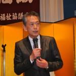 今泉裕県労福協副会長による閉会挨拶