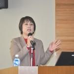 地方連合会初の女性会長に就任した、連合奈良・西田一美会長による講演