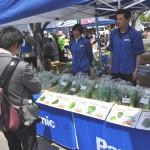 パナソニック「人口光型植物工場の野菜」販売