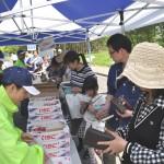 連合福島・野菜販売