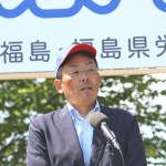 開会を宣言した、加藤光一実行委員会事務局長