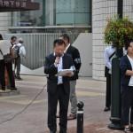 開会の挨拶をする紺野淳福島地区連合事務局長