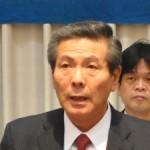 大会書記長 南波和春県南地域担当部長