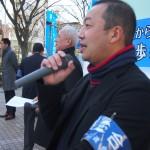 司会をつとめた連合福島竹岡博之副事務局長