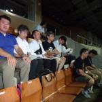 「連合平和集会」会場内の連合福島派遣団の皆さん