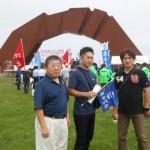 「平和集会」に参加した連合福島派遣団の皆さん