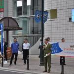 福島駅東口での街頭行動