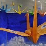 折鶴には平和への願いが込められています