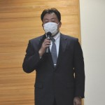 新しく組織部長兼アドバイザーに採用された長谷川浩一さん
